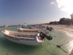 Boats on Isla Mujeres